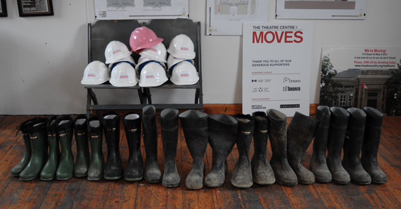 Safety Boots and Hard Hats