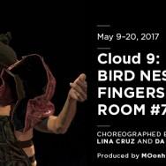 Cloud 9: Bird Nesting in Fingers in Bloom/Room 7