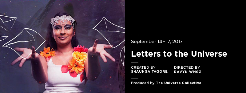 Letters to the Universe