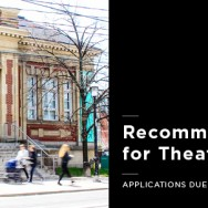 Recommender Grants for Theatre Creators